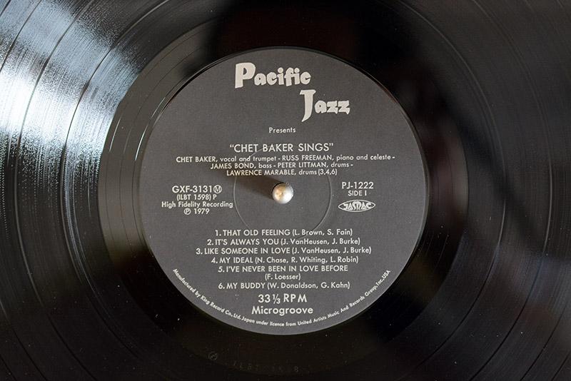 CHET BAKER SINGS GXF-3131(M)