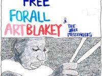 アートブレイキーのフリーフォーオールはロックが好きな人にこそ聴いてほしい、タフでハードでカッコいい漢のジャズアルバムだ!
